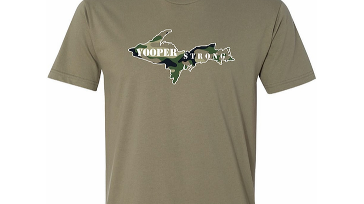 Loyaltees in Marquette is selling these shirts to help benefit veterans