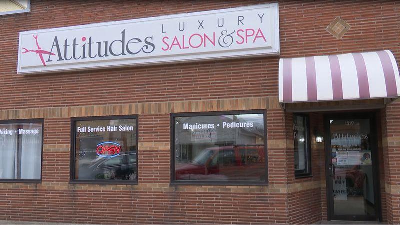 Attitudes Luxury Salon & Spa is located at 1219 Ludington St in Escanaba