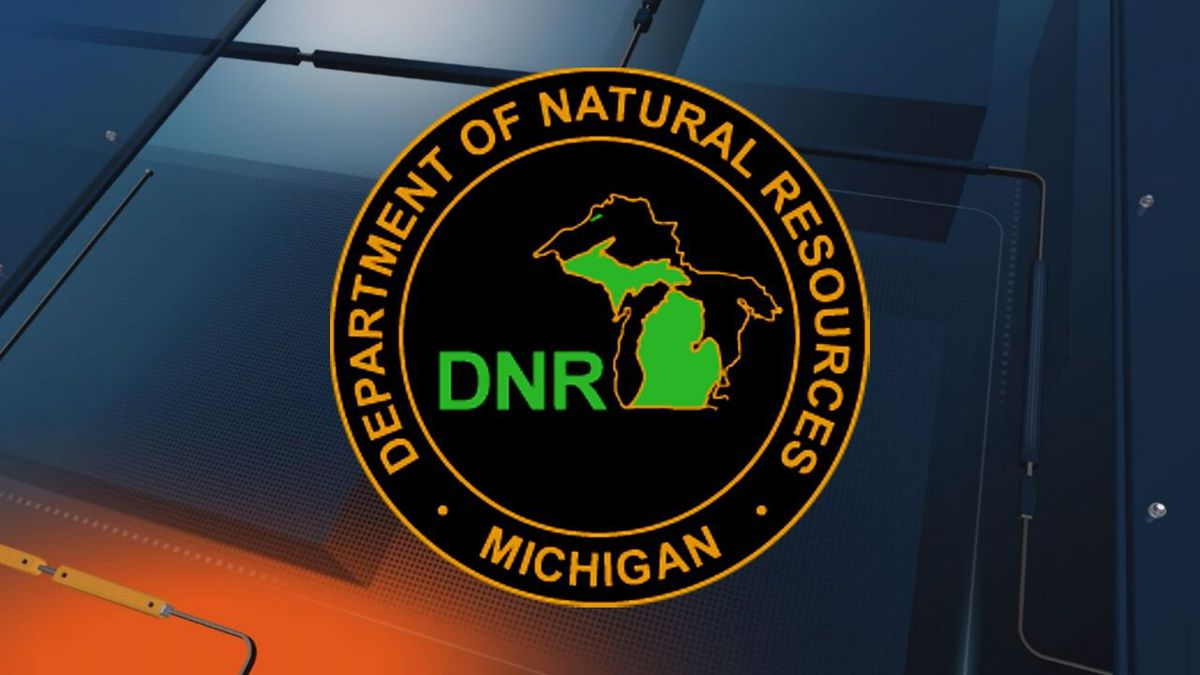 Michigan Department of Natural Resources logo. (Michigan DNR graphic)