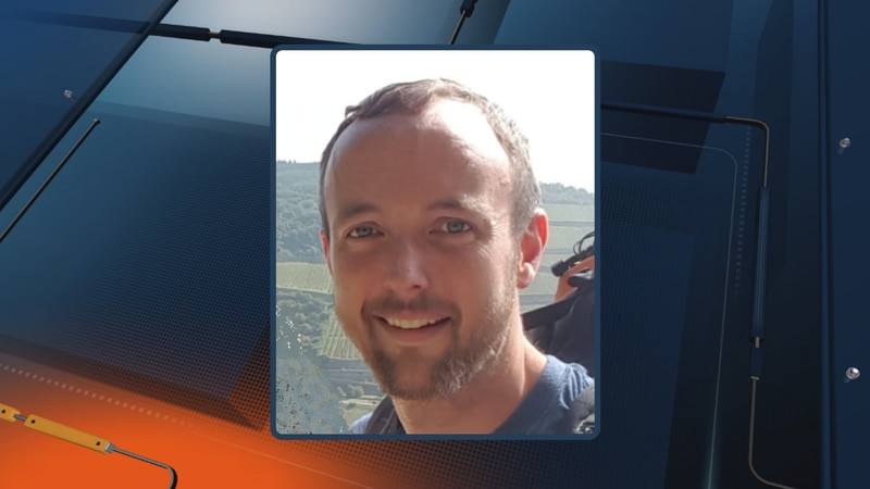 A photo of missing kayaker, Brett Harriman, of Marquette.