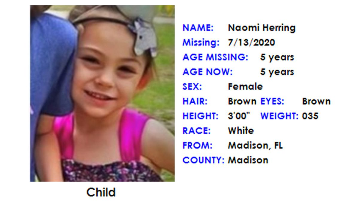 An Amber Alert has been canceled after a missing 5-year-old from Madison, Fla. was found safe,...