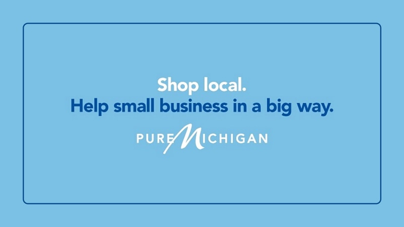 The new campaign is intended to inspire Michiganders to safely support small businesses in all...