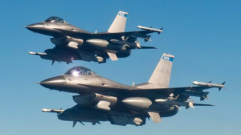 Two Block 50 F-16CM's from the 148th Fighter Wing, Minnesota National Guard.