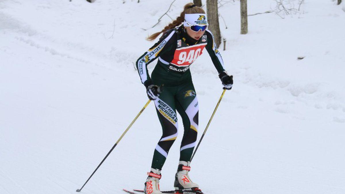 NMU nordic skiing