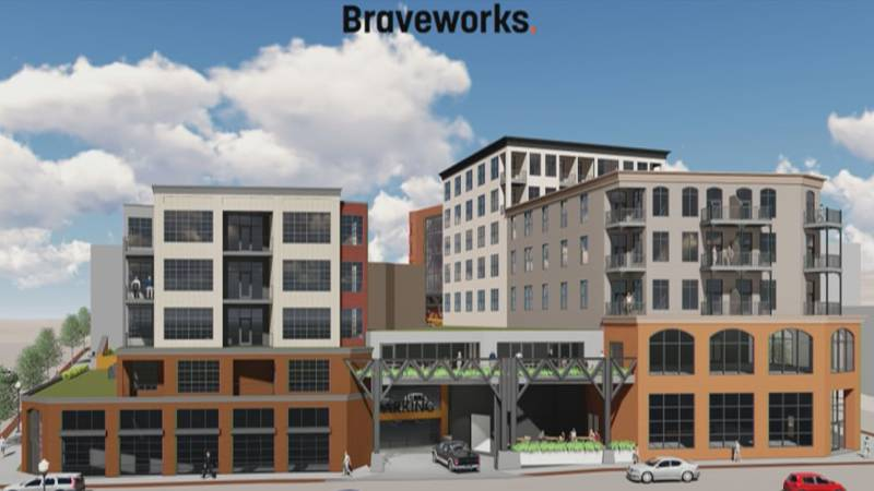 One of the main projects is to build a large, public access parking garage in downtown Marquette.