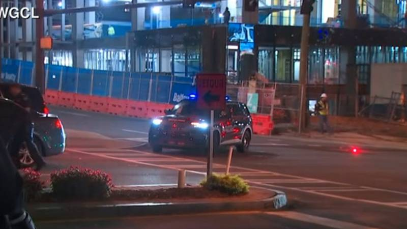 Police activity has blocked off a street in Midtown Atlanta as police respond to an active...
