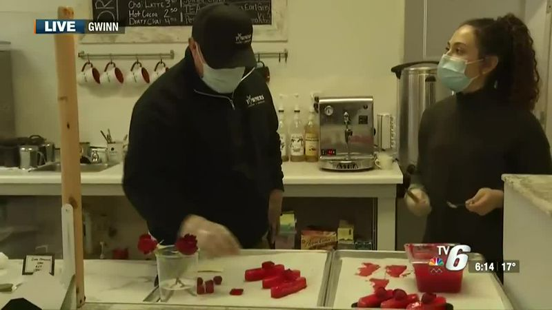 Towners specializes in French pastry and artisanal chocolate