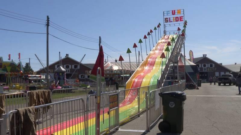 Fun Slide at the U.P. State Fair.