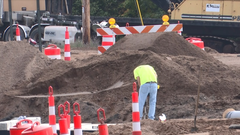 One of the Houghton County Road Commission's largest projects has been redoing roads and...