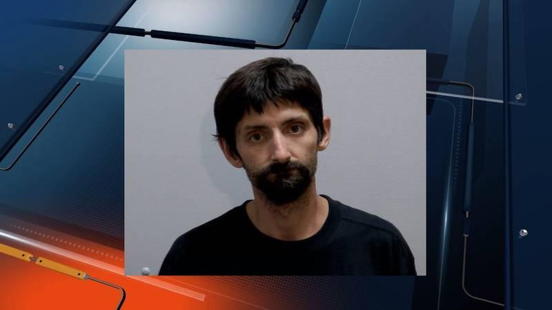 Mugshot of Curtis Contois, stabbing suspect.