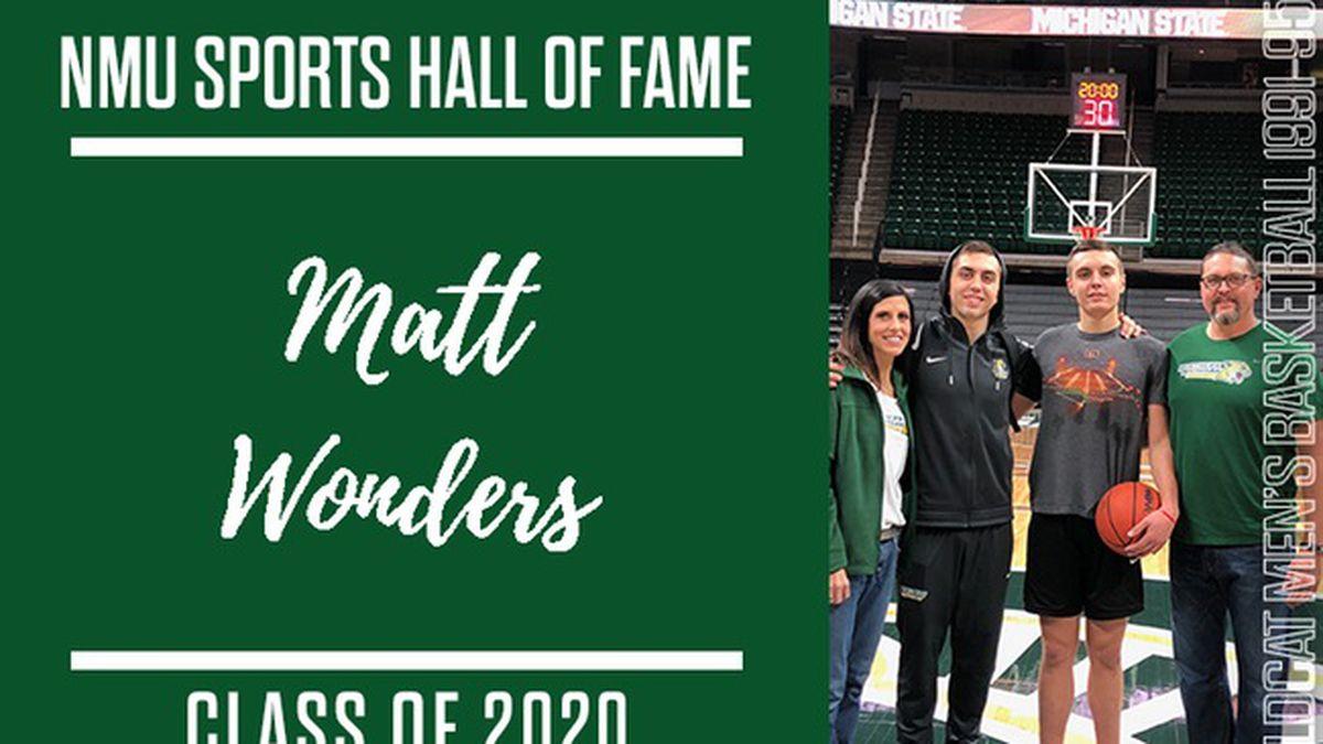 Matt Wonders, NMU Hall of Famer.