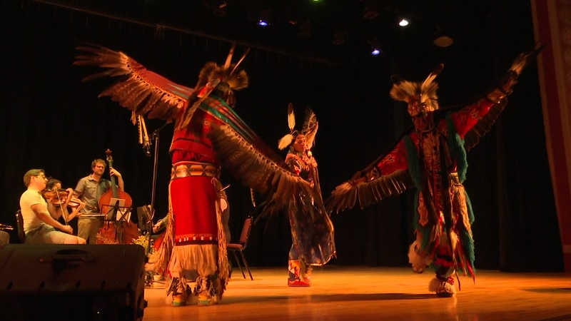 The dance represents the sacred value of Eagles in Native American cultures