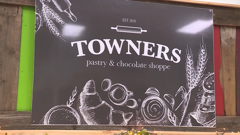 Towners Pastry and Chocolate Shoppe opened its new location in Marquette Friday