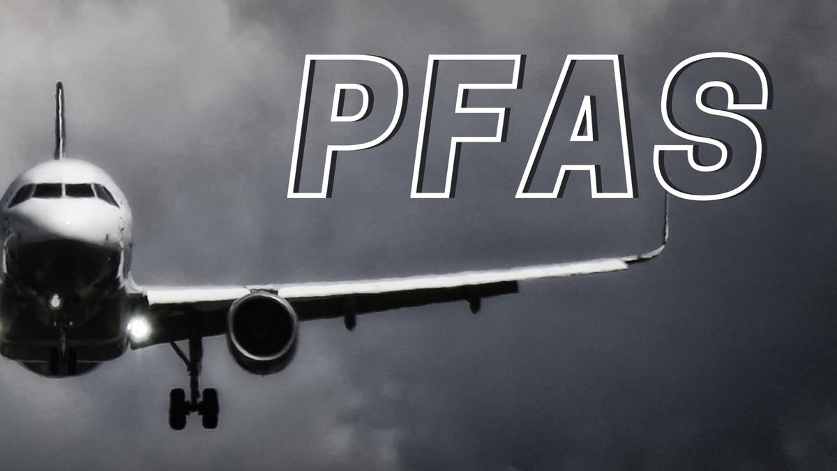 PFAS testing at airports.