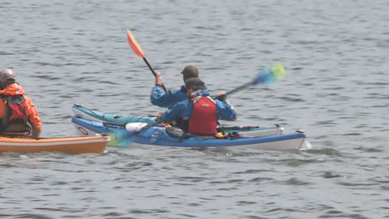 The launch will help kayakers to get into the water easier.