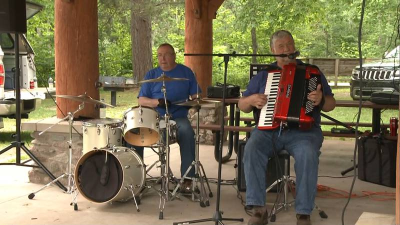Summer festivities kicked off Saturday with a turnout of more than 2,000 people at the Gwinn...