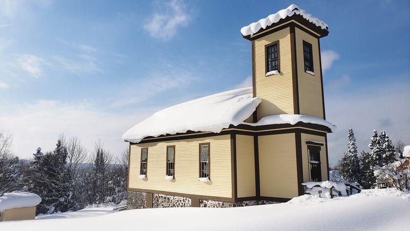 Central Mine Church in Mohawk, Feb. 2021.