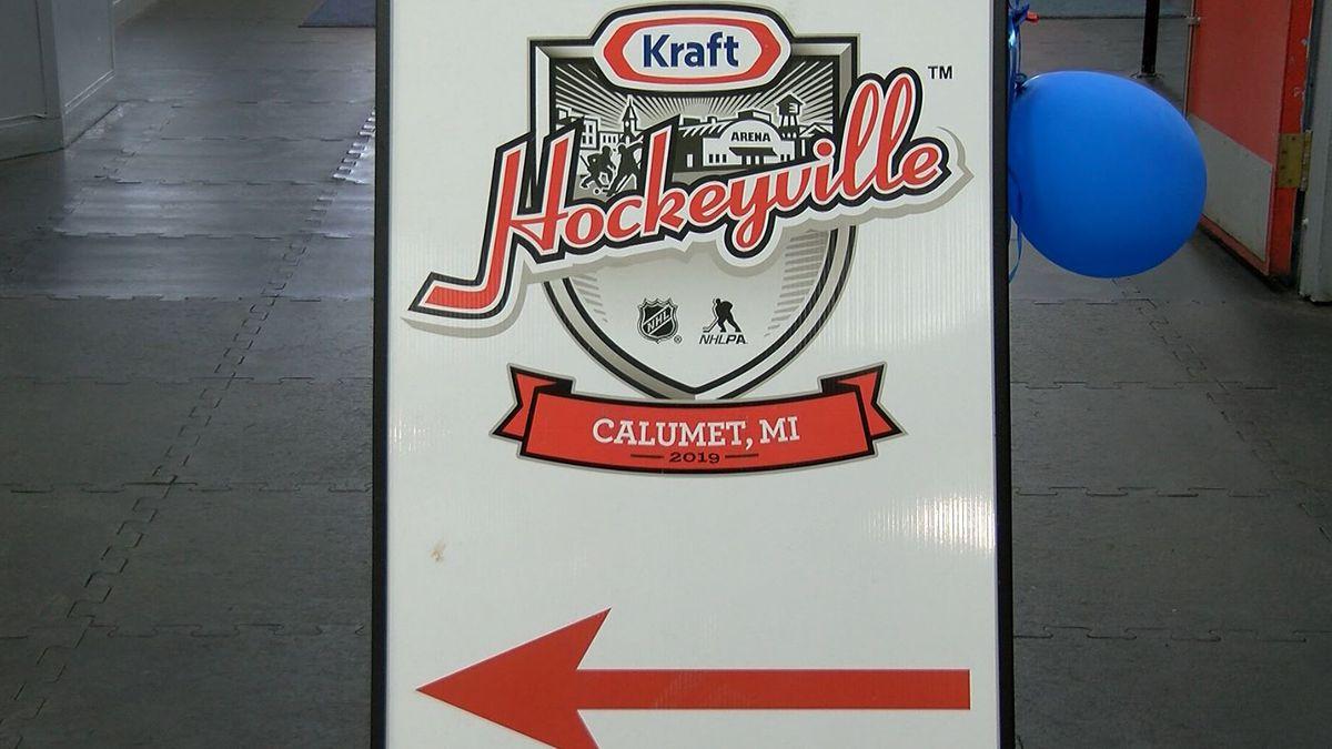 Kraft Hockeyville USA 2019 Calumet (WLUC Photo)