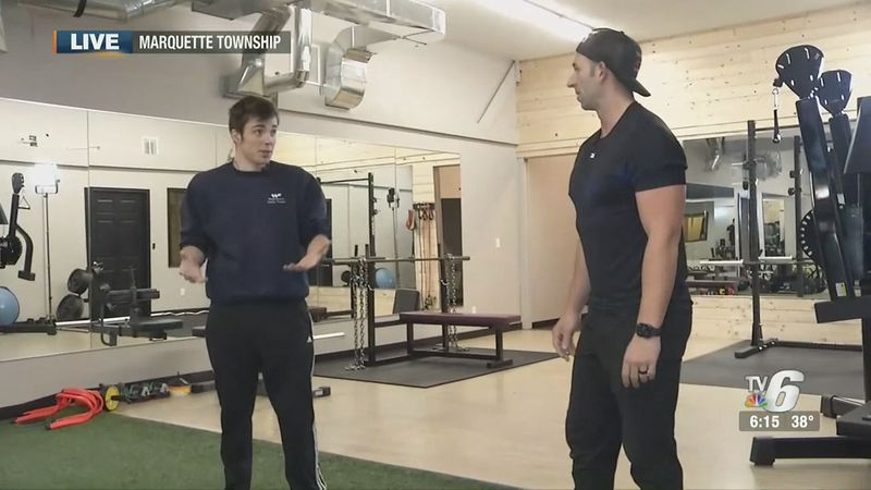 Personal trainer Travis Alexander demonstrates a quick at-home workout routine and talks about...