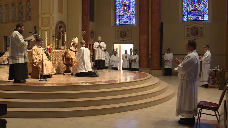 Two new Deacons are ordained in Marquette
