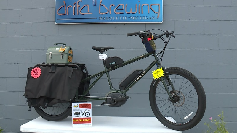The E-Bike being raffled off for Start the Cycle
