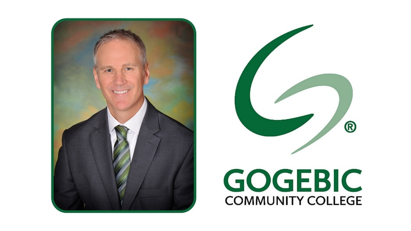 Gogebic Community College President, Dr. George McNulty.