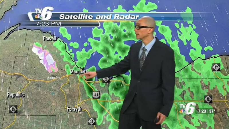 Scattered lake effect rain showers in the NW wind belts overall Friday, mixed with snow in the...