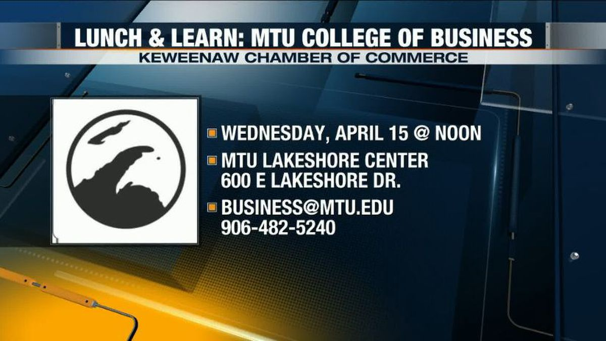 The Michigan Tech College of Business connects students to local businesses for real-world experience prior to graduation. (WLUC Photo)