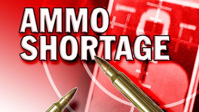 Ammo shortage. (AP)