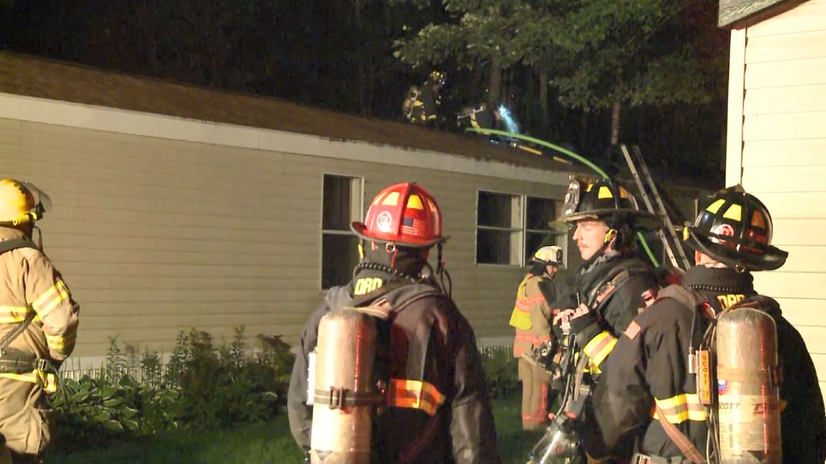 House fire in Chocolay Township