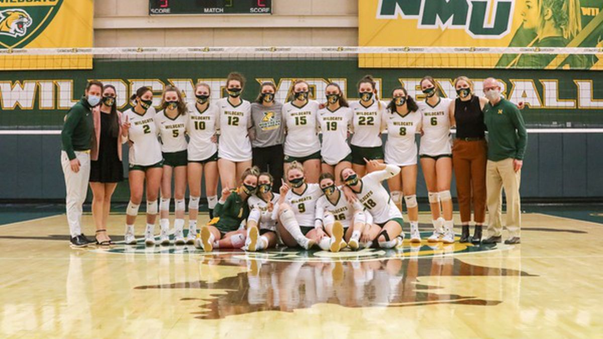 NMU Volleyball