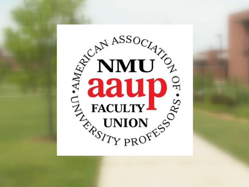 FILE. NMU-AAUP logo.