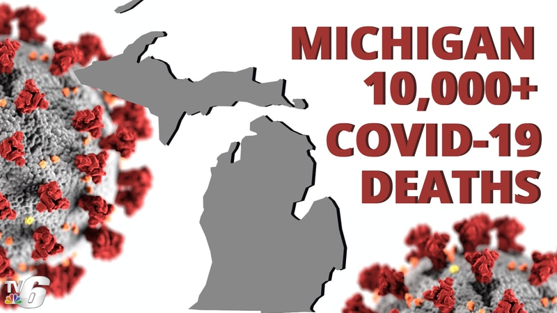 In Michigan, 191 new deaths were added Tuesday, Dec. 8, meaning total deaths increased to...