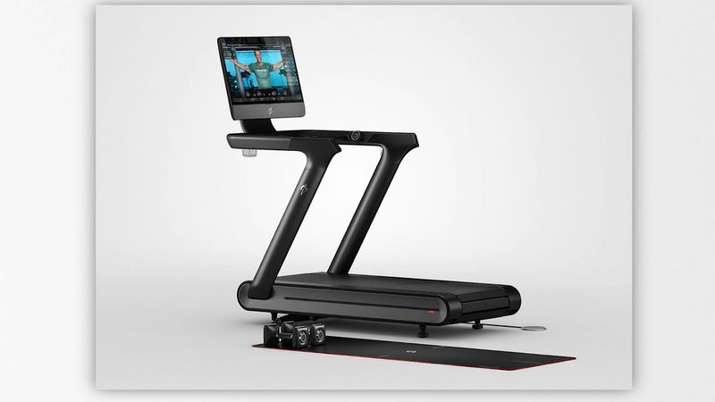 This image shows Peloton's Tread+ treadmill.