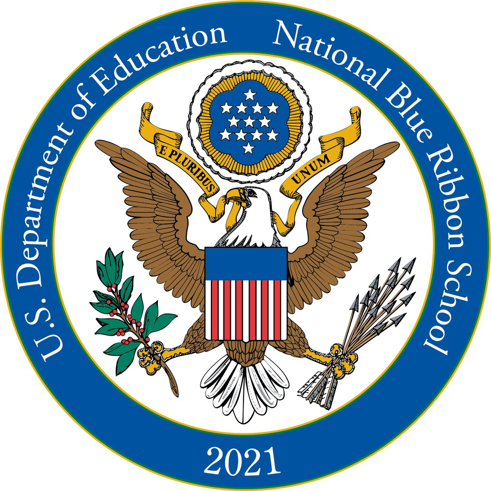 The official award certification from the U.S. Department of Education. Photo courtesy of...