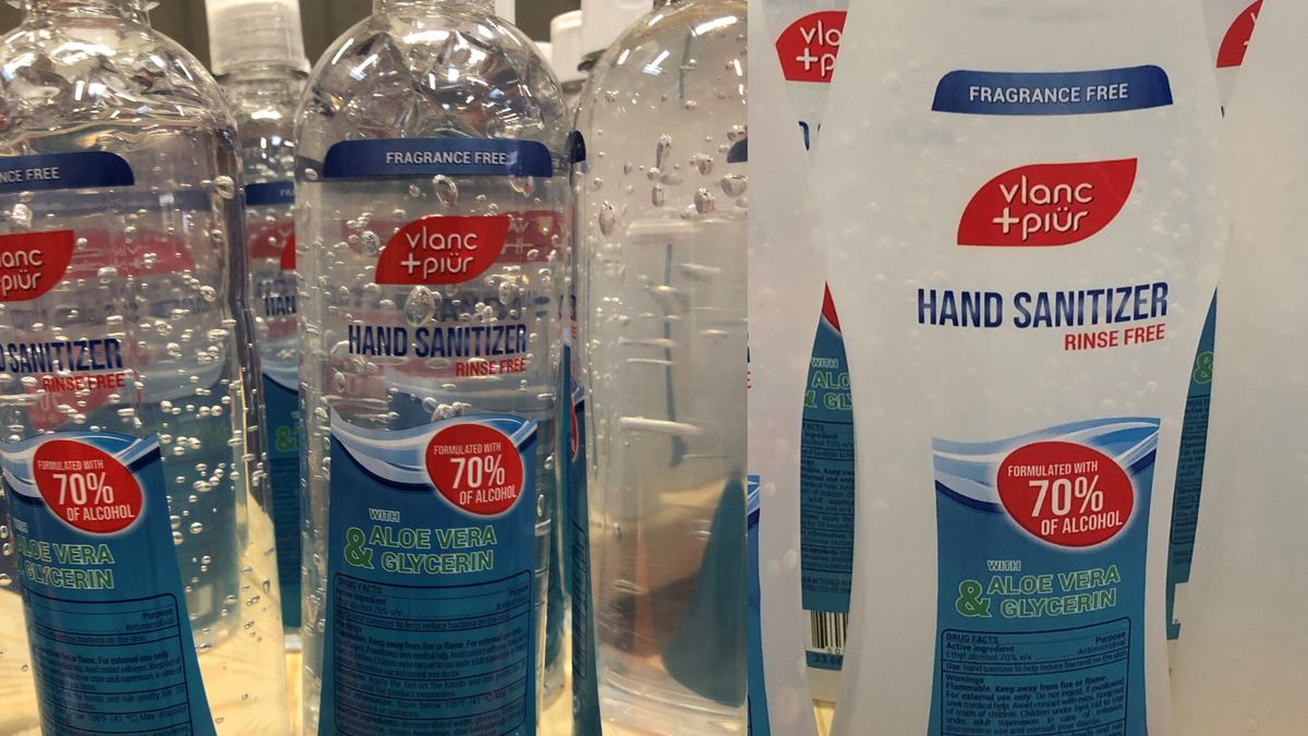 Michigan has banned the sale of Vlanc+Piür hand sanitizer after it failed lab tests for alcohol quantities.