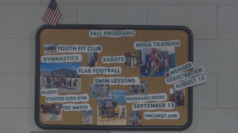 Fall programs at the YMCA of Marquette.
