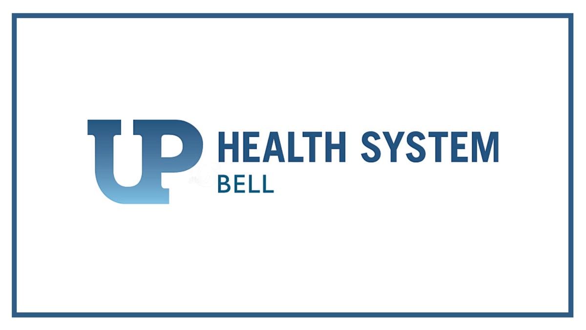 UP Health System Bell (Ishpeming) logo.