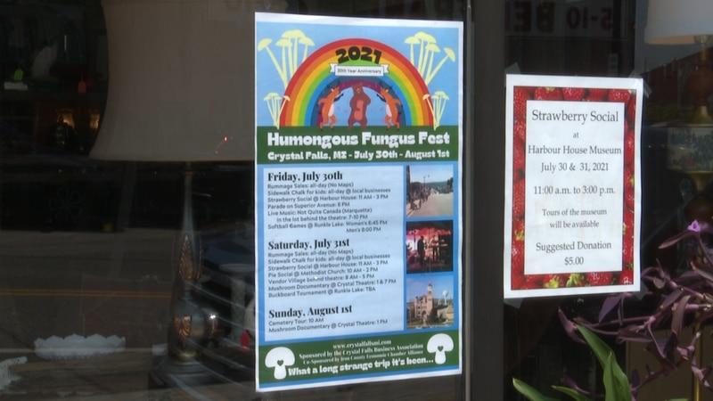 Events include a vendor village, a parade, and live music