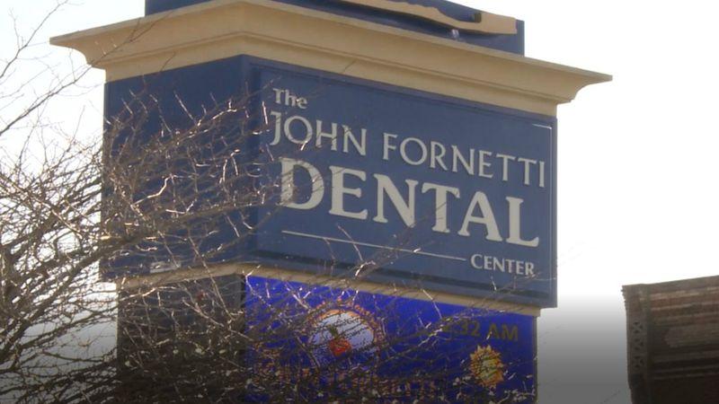 John Fornetti Dental Center sign. (WLUC Photo)