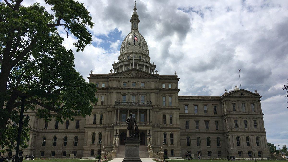 FILE. Michigan Capitol.