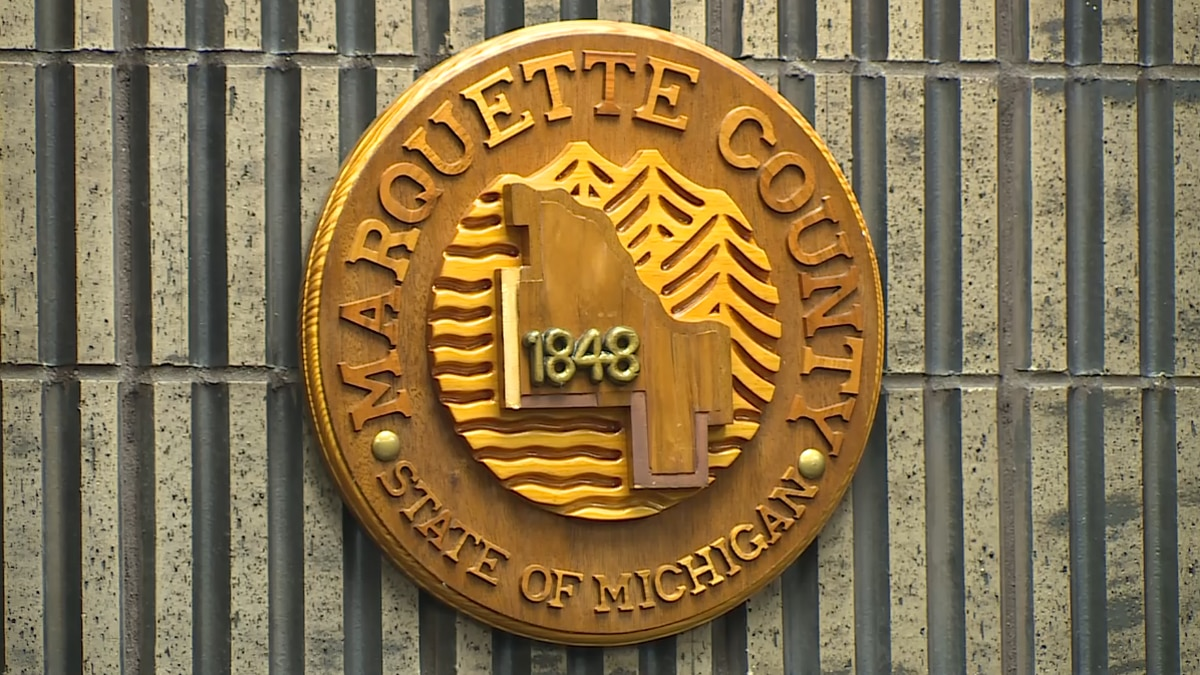 Marquette County Board Plaque (WLUC file image)