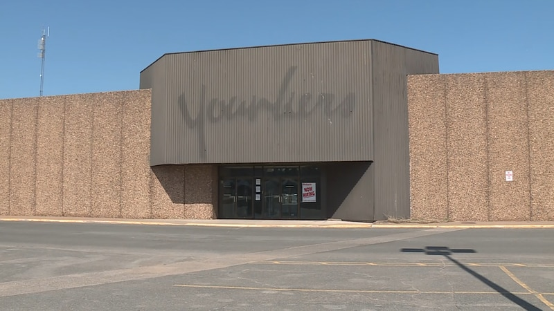 The former Younkers at the Westwood Mall, where Dunham's Sports will be moving in this summer