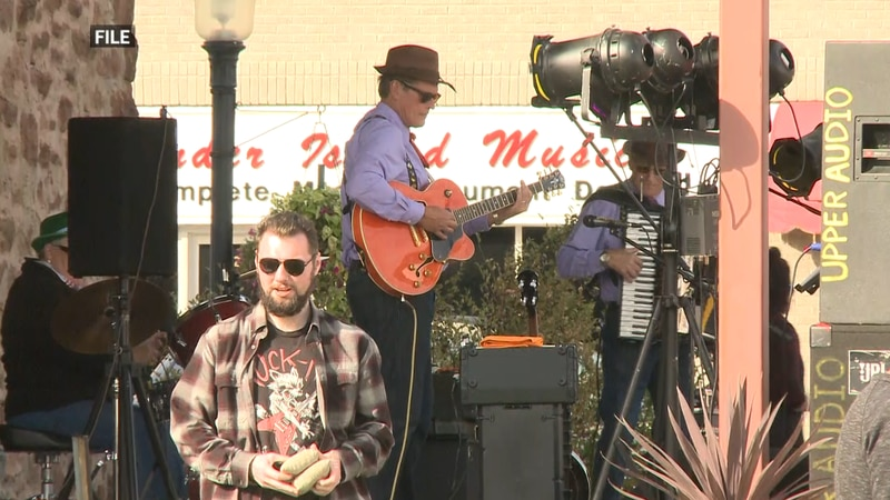 The event brings back live music at the stage downtown in Iron Mountain.