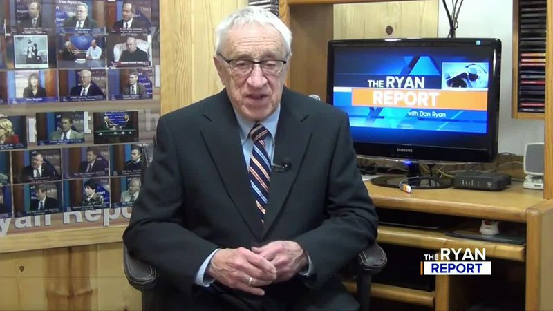 TV6's Don Ryan during the Jan. 24, 2021 episode of The Ryan Report.