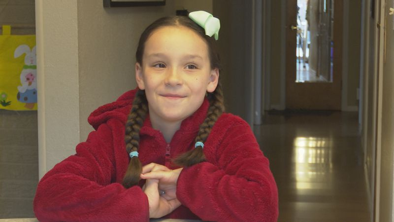 Ruby is a finalist in a nationwide Sun-Maid competition to be on the Board of Imagination.