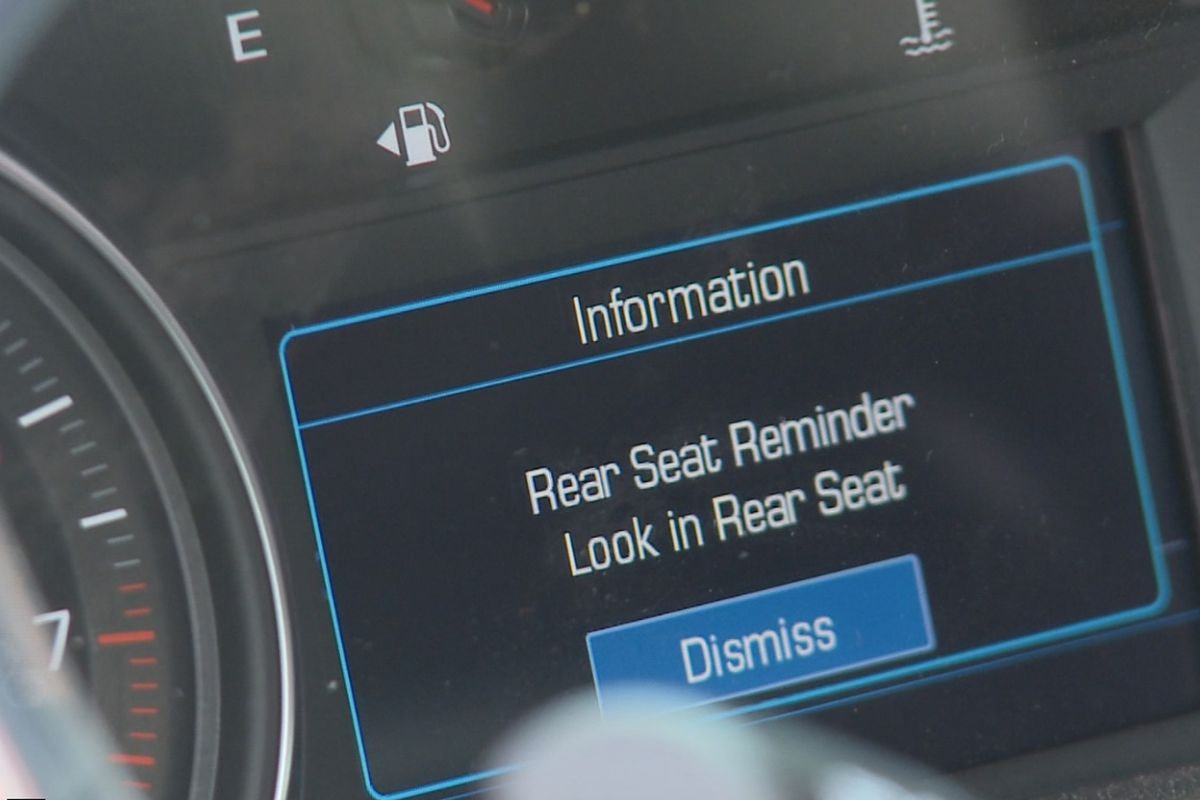 Car manufacturers begin implementing back seat reminder technology