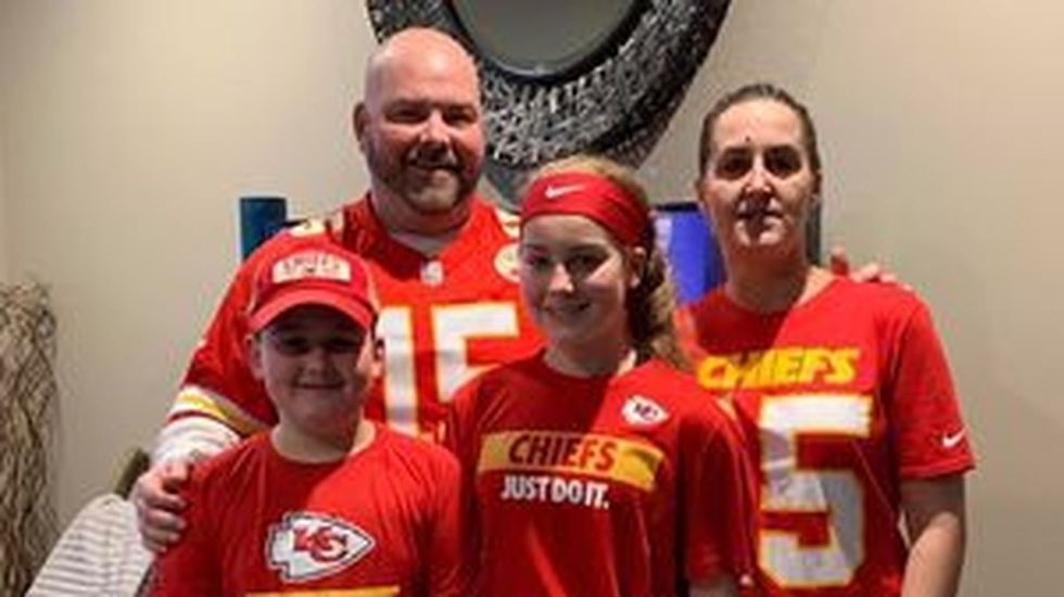 B.J. Olson and his family gather together to celebrate how important it is to spend time...