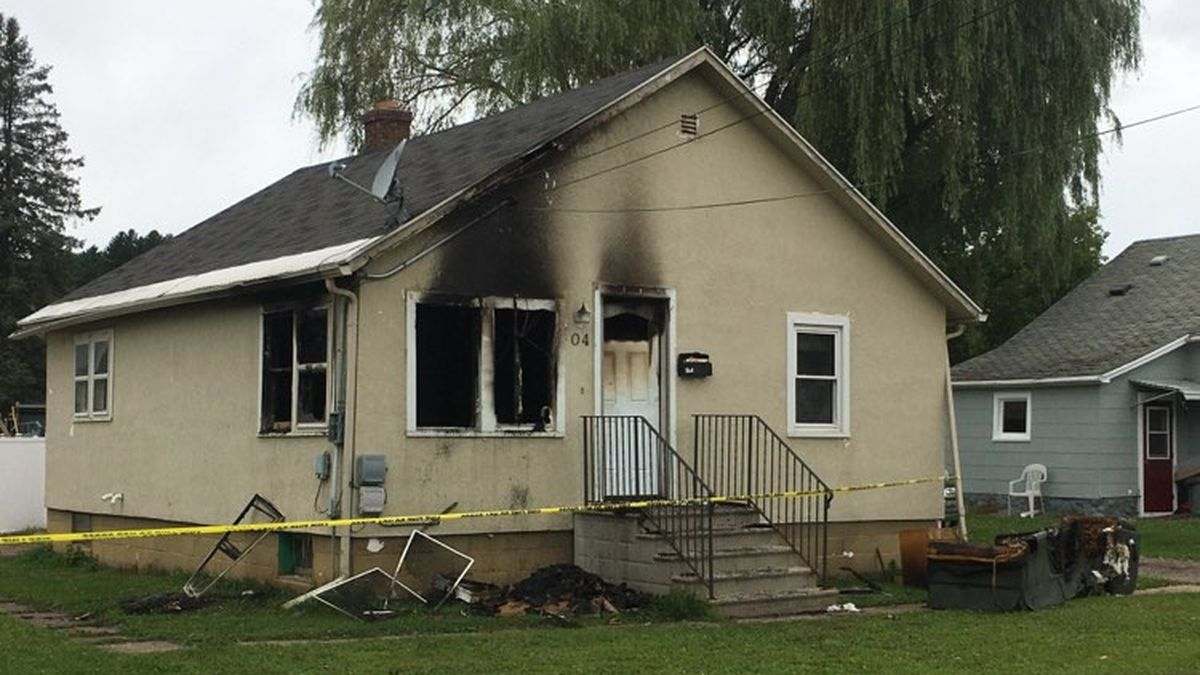 The home located at 504 Quinnesec Street in Iron Mountain was damaged in a fire on Monday,...