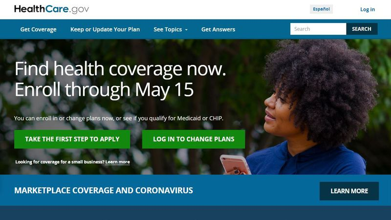 HealthCare.gov offers subsidized private health insurance under the Obama-era Affordable Care...